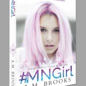 #MNGirl Print Cover (Front) For A.M. Brooks