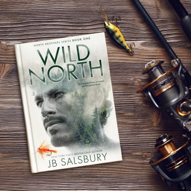 Wild North (North Brothers Series Book One) Flat Lay
